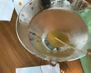 Um Dry Martini do Piselli