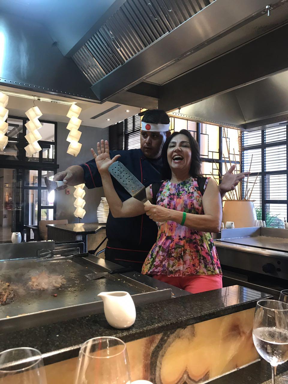 Restaurante japones no Meliá